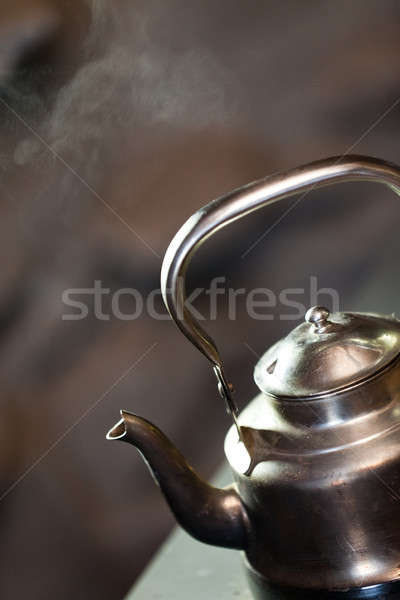 Boiling kettle Stock photo © aetb