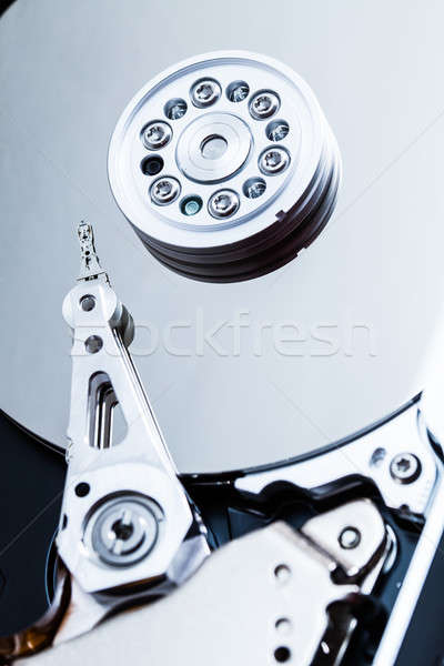 Hard Drive Mechanism Details Stock photo © aetb