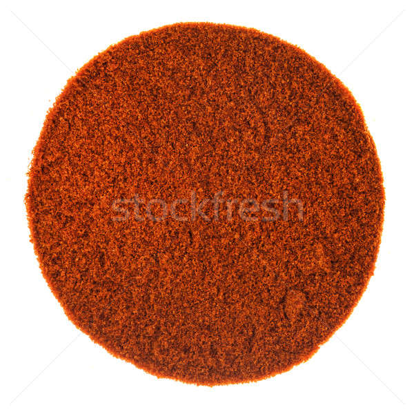 Rosso piccante pepe polvere texture perfetto Foto d'archivio © aetb