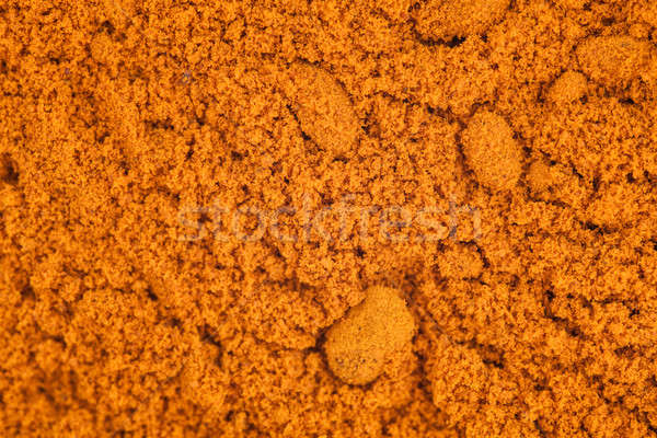 Turmeric Powder Macro Texture Stock photo © aetb