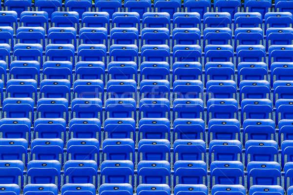 空っぽ 青 屋外 番号 テクスチャ サッカー ストックフォト © aetb