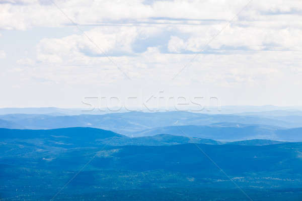 View from the Mont Jacques-Cartier Stock photo © aetb