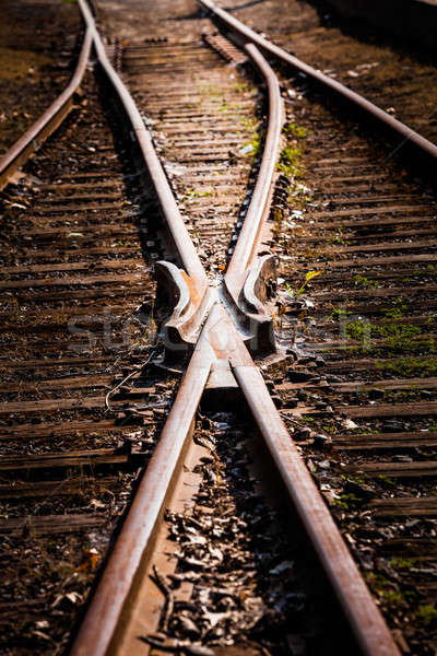 Train Track Detail Stock photo © aetb