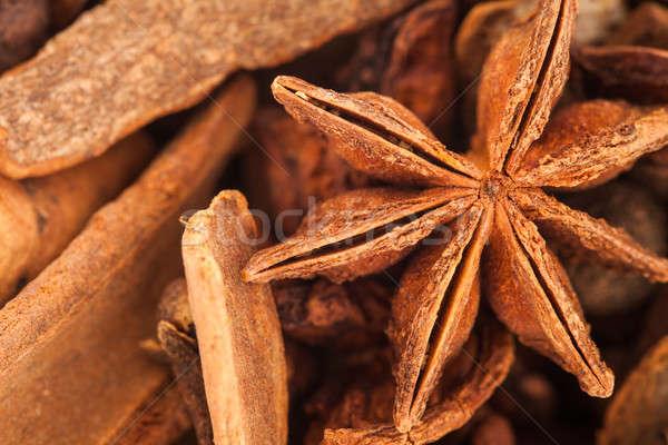 Extrême texture chaud vin épices Photo stock © aetb