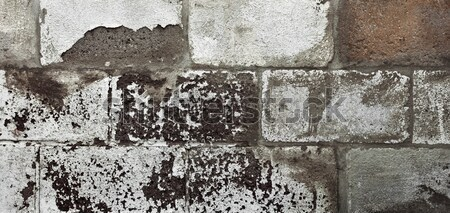 Stok fotoğraf: Tuğla · duvar · ayrıntılı · doku · açık · doğal · güneş