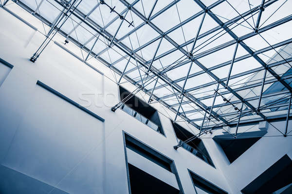 Modern Architectural Skylight Structure Stock photo © aetb