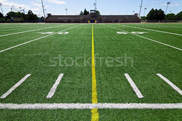 Futballpálya Stock fotó © aetb