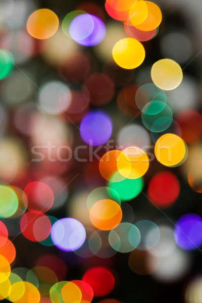 As simple as a beautiful Blurry Xmas Light Stock photo © aetb