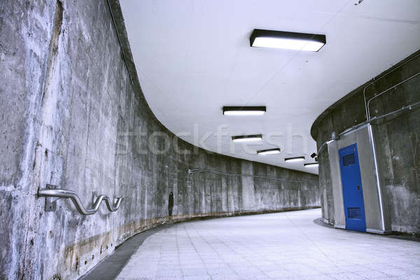 Underground Grunge metro corridor - no people  Stock photo © aetb