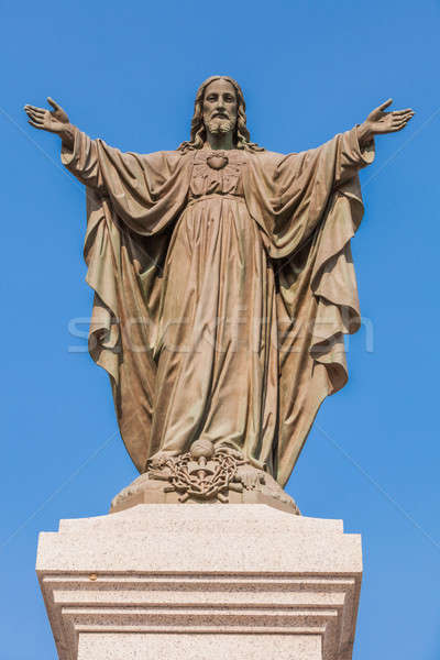 Outdoor Statue of Jesus Stock photo © aetb