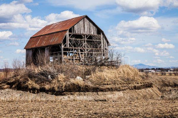 Old Abandoned Barn Stock photo © aetb