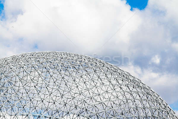 Montreal Biosphere Structure details Stock photo © aetb