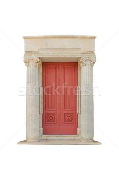 Classico porta architettonico stile arch marmo Foto d'archivio © AEyZRiO