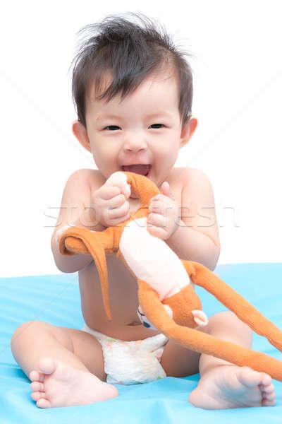 Bella cute piccolo giocattolo faccia Foto d'archivio © AEyZRiO