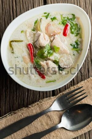 Thai stile chili bisogno Foto d'archivio © AEyZRiO