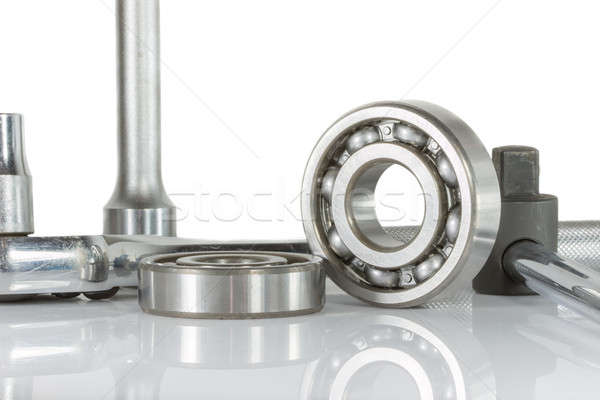 ball bearing with drive socket set  Stock photo © AEyZRiO