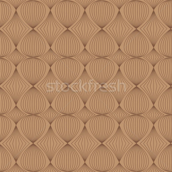 Seamless pattern in coffee tones Stock photo © Agatalina