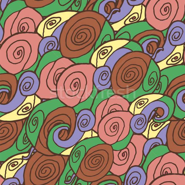 бесшовный аннотация шаблон перец текстуры весны Сток-фото © Agatalina
