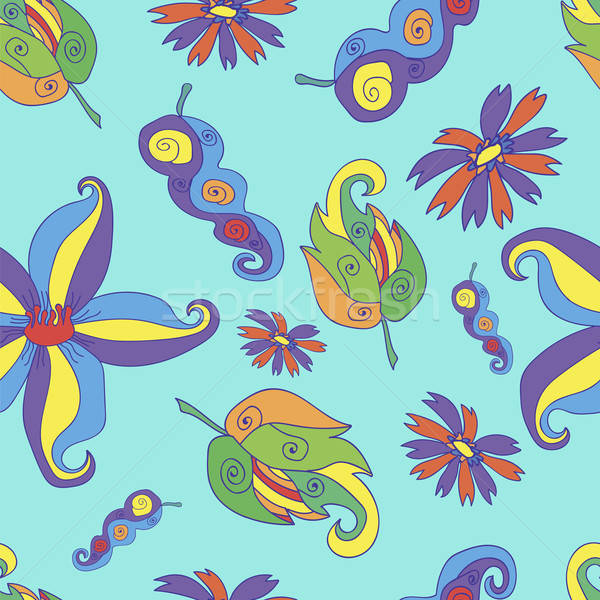Seamless floral pattern Stock photo © Agatalina