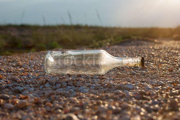 Old sealed bottle Stock photo © Agatalina