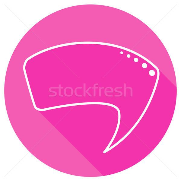 Stock photo: Round speech bubbles