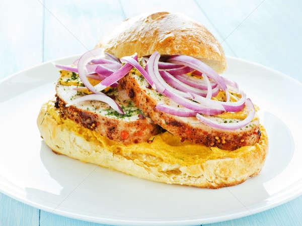 Sandwich Stock photo © AGfoto
