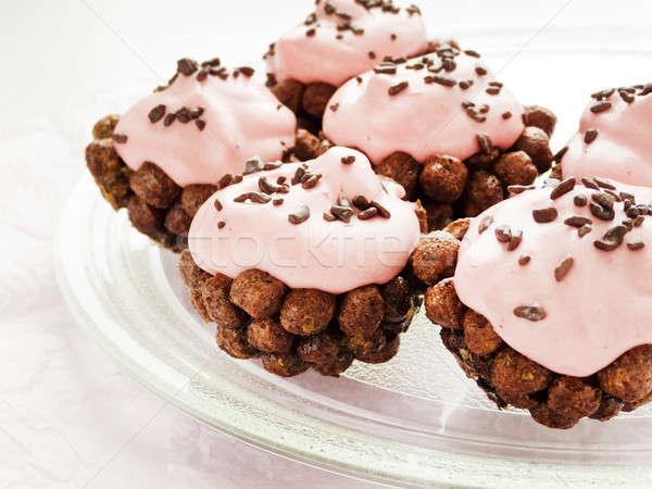 Cupcakes Stock photo © AGfoto