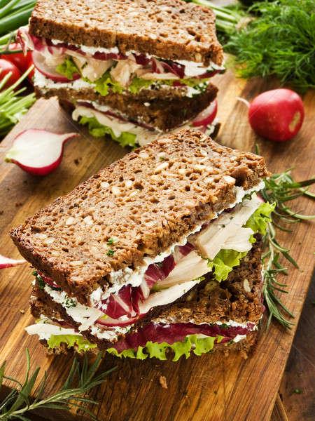 Sandwiches Stock photo © AGfoto