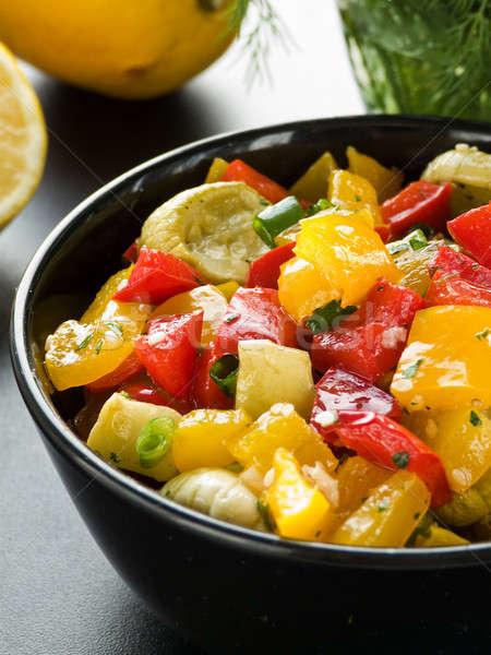 Warm salad Stock photo © AGfoto