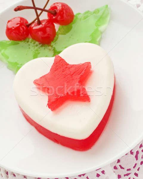 Tatlı sevgililer günü sığ kâğıt gıda Stok fotoğraf © AGfoto