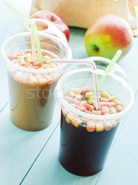Coffee in plastic glass Stock photo © AGfoto