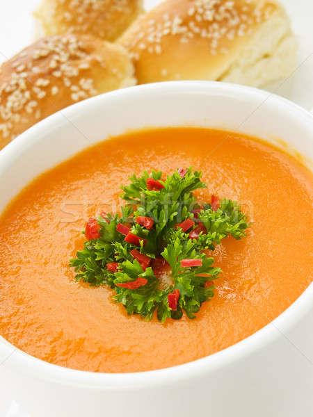 Pumpkin soup Stock photo © AGfoto
