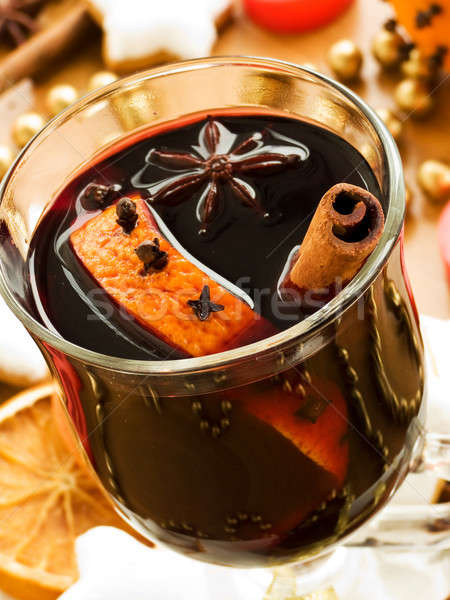 Mulled wine Stock photo © AGfoto