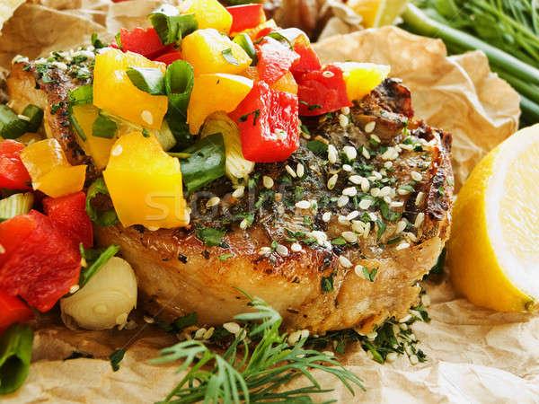 Steak Stock photo © AGfoto