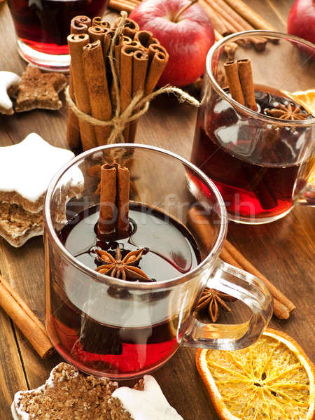 Mulled wine Stock photo © AGfoto