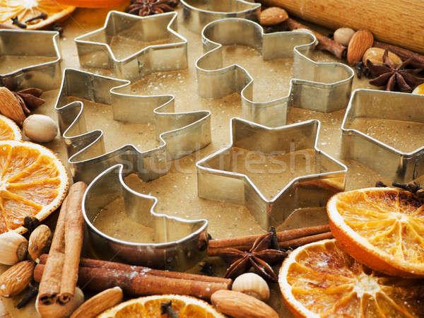 Christmas baking Stock photo © AGfoto
