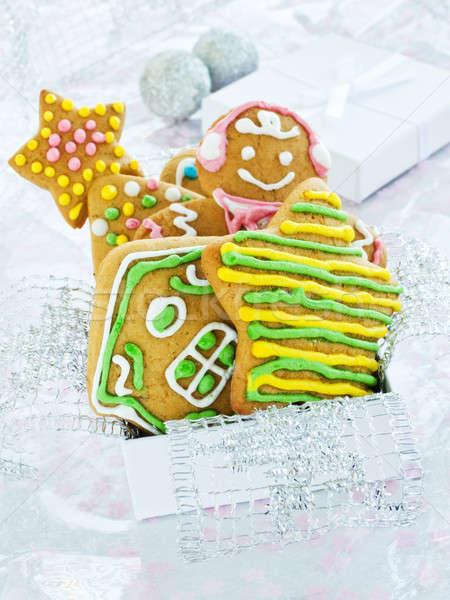 Gingerbread cookies Stock photo © AGfoto