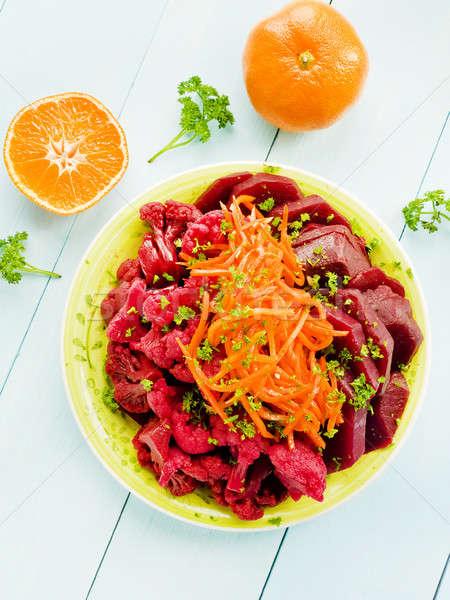 Marinated veggies Stock photo © AGfoto