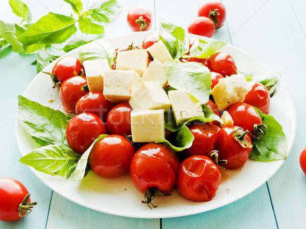 помидоров сыра помидоры черри мелкий Сток-фото © AGfoto
