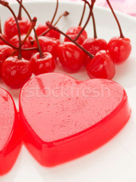 Tatlı sevgililer günü sığ gıda Stok fotoğraf © AGfoto