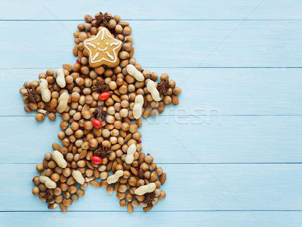Christmas man Stock photo © AGfoto