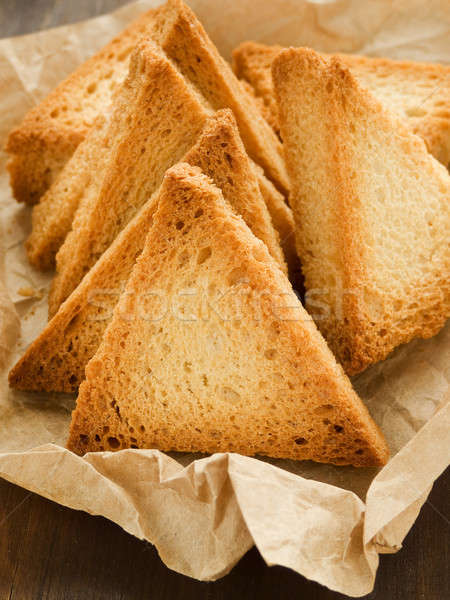 Grup kâğıt sığ tost Stok fotoğraf © AGfoto