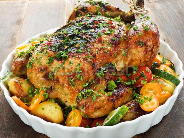Chicken Stock photo © AGfoto