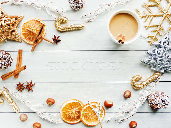 Stock photo: Sweet winter drink