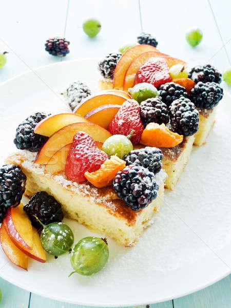 Stok fotoğraf: Meyve · karpuzu · sığ · meyve