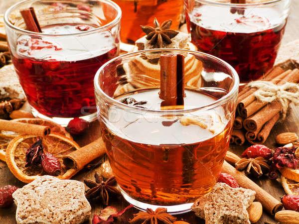 Winter drinks Stock photo © AGfoto