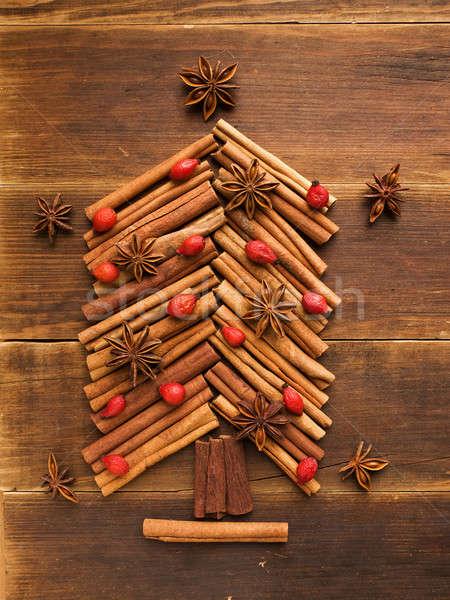 Christmas tree Stock photo © AGfoto