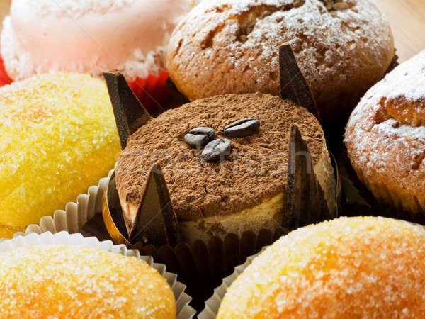 Stock fotó: édesség · különböző · torták · desszertek · sekély · mélységélesség