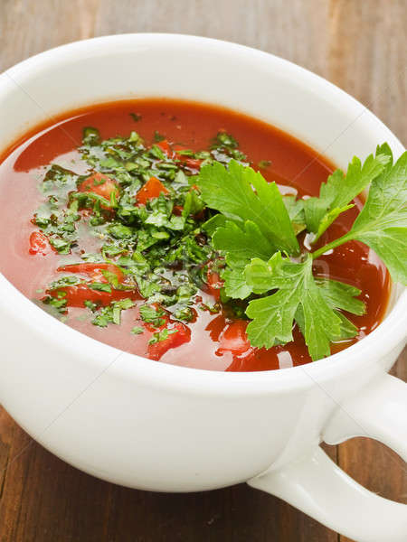 Gazpacho Stock photo © AGfoto