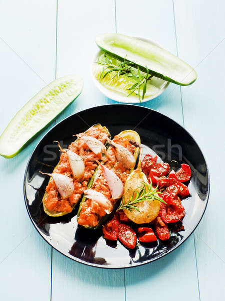 Stuffed cucumbers Stock photo © AGfoto